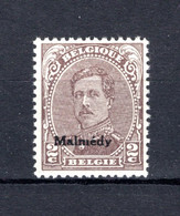 OC63B MNH** TYPE III  1920 - Postzegels Met Opdruk Malmedy - [OC55/105] Eupen/Malmedy