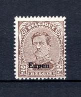 OC85A MNH** TYPE II  1920 - Postzegels Met Opdruk Eupen - [OC55/105] Eupen/Malmedy