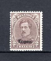 OC85B MNH** TYPE III  1920 - Postzegels Met Opdruk Eupen - [OC55/105] Eupen/Malmedy