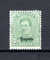 OC87A MNH** TYPE II 1920 - Postzegels Met Opdruk Eupen - [OC55/105] Eupen/Malmedy