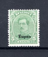 OC87B MNH** TYPE IV  1920 - Postzegels Met Opdruk Eupen - [OC55/105] Eupen/Malmedy