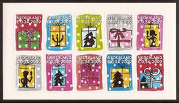 Nederland 2009 NVPH Nr 2684/2693 Postfris/MNH Decemberzegels, Kerst, Christmas, Noel, Weihnachten - Unused Stamps