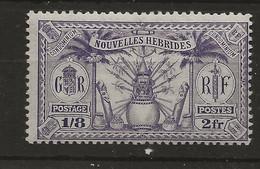 New Hebrides, 1925, F  51, MNH - Unused Stamps