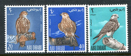 Abu Dhabi 1965 Falconry Set HM (SG 12-14) - Abu Dhabi
