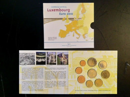 LUXEMBOURG 2010 COFFRET EUROS SOUS BLISTER L'ARCHITECTURE INDUSTRIELLE VOIR SCAN - Luxembourg
