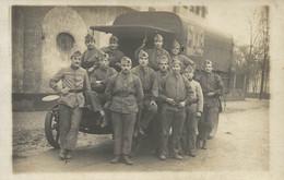 MAYENCE ALLEMAGNE  DEVANT UN CAMION - Oorlog 1914-18