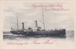 Paquebot Prince Albert - Tarjetas Transatlánticos