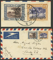 SOUTH WEST AFRICA: 31/JA/1955 OKAHANDJA - Argentina - Südwestafrika (1923-1990)