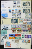 BRITISH ANTARCTIC TERRITORY: 16 Covers (mostly FDC) - Sin Clasificación