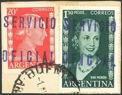 ARGENTINA: GJ.815 + 822 - Oficiales