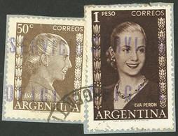 ARGENTINA: GJ.818 + 821 - Oficiales