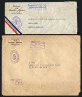 ARGENTINA: Circa 1950 - Oficiales