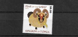 2015 MNH Tonga - Tonga (1970-...)