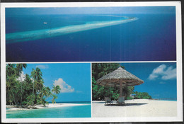 MALDIVES - SCORCI PANORAMICI - VIAGGIATA 1993 - Maldives