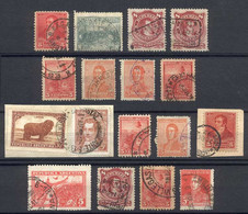 ARGENTINA: Small Lot Of Old Stamps - Collections, Lots & Séries