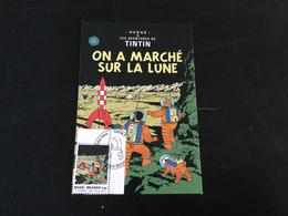 Belgique : N°3253 Tintin Sur CM - Cartas