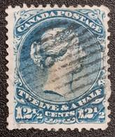CANADA 1868-1878 Stamp - Oblitérés