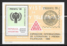 Argentine N° Bloc 23  Yvert NEUF ** - Blocs-feuillets
