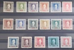 Romania Austria 1917 Stamps Set - Ungebraucht