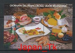 SCHWEIZ Mi. Nr. Block 43 Tag Der Briefmarke – Bellinzona - MNH - Blocks & Kleinbögen