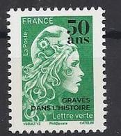 Francia/Frankreich 2020 Michel 7776 Marianne Mit Aufdruck - 2018-... Marianne L'Engagée