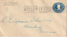 USA 1906   ENTIER POSTAL/GANZSACHE/POSTAL STATIONARY LETTRE DE LOCKPORT - 1901-20