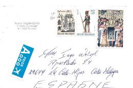 B425 / BELGIEN - Brief Mit 3 Schönen Marken Von 1983 + 1979 - Cartas