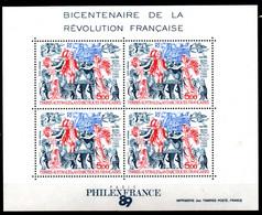 Taaf Terres Australes 1989 N° Bloc 1  Neuf XX MNH Cote : 12,50 Euro - Neufs