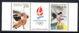 Andorre Français Andorra 1992 N° 414A  Neuf XX MNH Cote : 4,00 Euro - Neufs