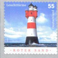 Bund 2413 Leuchttürme Roter Sand   Postfrisch MNH ** Selbstkebend - Unused Stamps