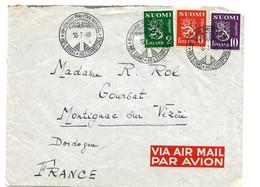 SF038 / FINNLAND - 3. Welt-Forst-Kongress 1949 - Briefe U. Dokumente