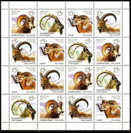 RUSSIE/RUSSIA/RUSSLAND/ROSJA 2013 MI.1899-1902** ,ZAG.1667-70,YVERT. Animals Fauna Of Russia. Wild Goats And Rams - Unused Stamps