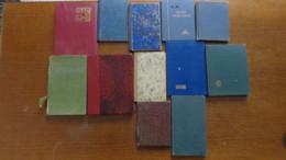 12 Petits Albums De Timbres Fond Blanc - Klein, Grund Weiß