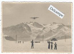 Alpe D'Huez - Photo  D'un Avion Survolant - 11.4 X 8.7 Cm - Otros Municipios