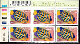 South Africa - 2005 7th Definitive 20c Control Block (2005.09.01) (**) - Hojas Bloque