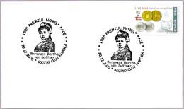 PREMIO NOBEL PAZ 1905 - BERTHA VON SUTTNER. Cluj Napoca 2005 - Premio Nobel