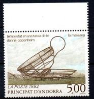Andorre Français Andorra 1992 N° 424  Neuf XX MNH Cote : 3,00 Euro - Neufs