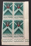 1957 - Italia - Prudenza Sulla Strada - Lire 25 - 1946-60: Nuovi