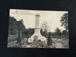 CP Ancienne De Sart-Dames-Avelines : Monument Des Combattants - Villers-la-Ville