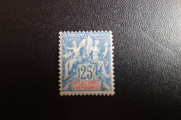 NOUVELLE CADELONIE  Type Groupe N/62* Mh C.13e - Unused Stamps