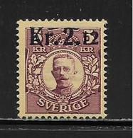 SUEDE ( EUSU - 1589 )  1917  N° YVERT ET TELLIER COLIS POSTAUX N° 2  N** - Sonstige