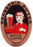Ancienne étiquette Brasserie Duyck à Jenlain 59 - Bier