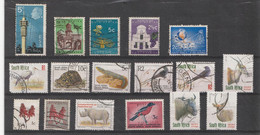 17 Timbres Oblitérés- 17 Stamps Used - Collections, Lots & Séries