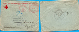 """L-  """"Comité International De La Croix Rouge- GENEVE""""-  Pour Légation Des Pays-Bas- VICHY - - WW II"""