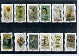 YT AA 1827 A 1838  Serie Complete Cabinet De Curiosités - Luchtpost