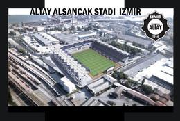 CP. STADE.  IZMIR    TURQUIE    ALTAY  ALSANCAK  STADI # CS.1249 - Calcio