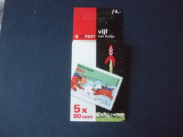 Nederland Kuifje TINTIN  Postzegelboekje Pb 59 - Otros