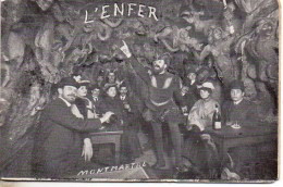 75 PARIS  Cabaret L'Enfer Carnet De 4 Cartes - Paris By Night