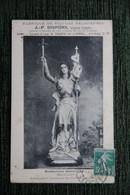 TOULOUSE : J.P DISPONS, Sculpteur , Statuaire, Fabrique De Statues Religieuses, Rue Tournante De Luppé. - Toulouse