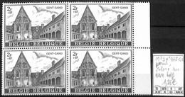 NB - [855903]TB//**/Mnh-Belgique 1973 - N° 1662-cur, Gent-Gand, Point Coloré, Curiosité, Vacances & Tourisme, BD4 - Variedades (Catálogo COB)